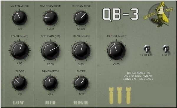 De La Mancha QB 3 VST 1.0, vst plugins de la mancha, VST, De La Mancha