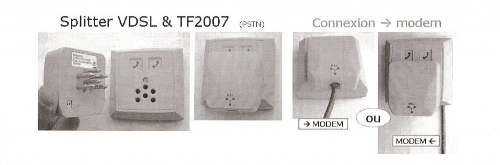 branchement nouvelle prise pas de tonalit proximus fr. Black Bedroom Furniture Sets. Home Design Ideas