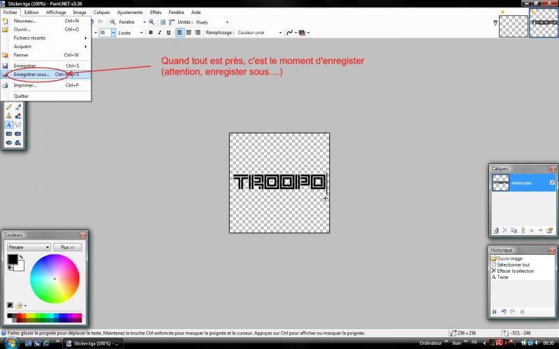 Avis aux amateurs, voici comment créer vos stickers pour Tm 09-114a633