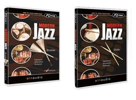 XLN Audio ADpak Modern Jazz Brushes & Jazz Sticks Hybrid CD