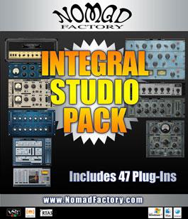 NomadFactory Integral Studio Pack VST RTAS 1.0