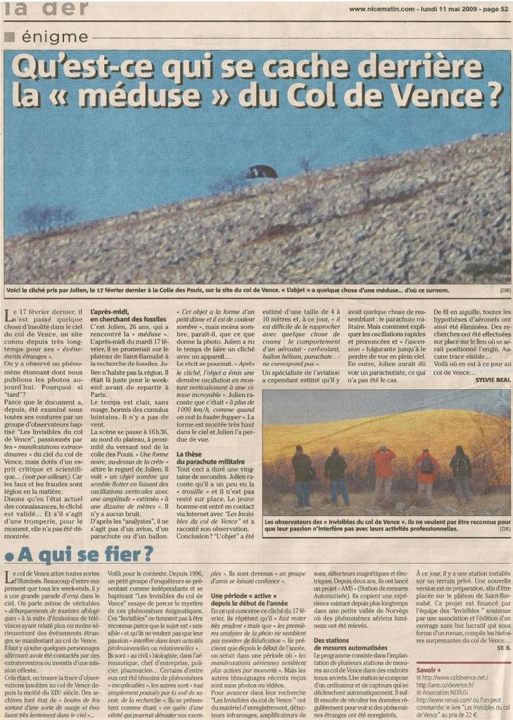Ovni du Col de Vence  une zone de canulars fréquents - Page 5 09_05_11_nicematin_icdv_1-efc195