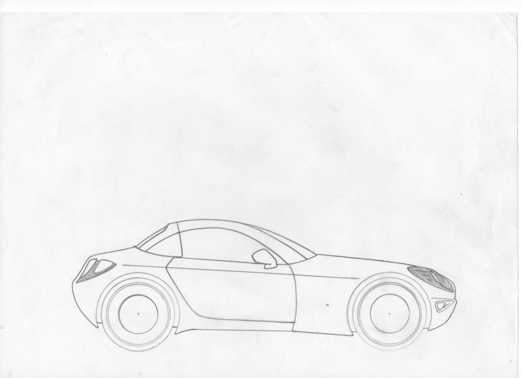 Dessin et croquie de voiture page 3 discussions hors sujet - Dessin voiture profil ...