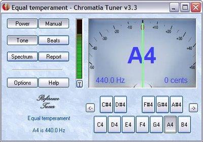 Portable Chromatia Tuner v3.3