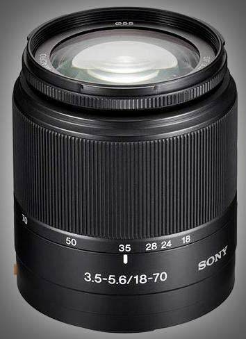 Objectifs Sony Alpha DT 18-70mm F3.5-5.6