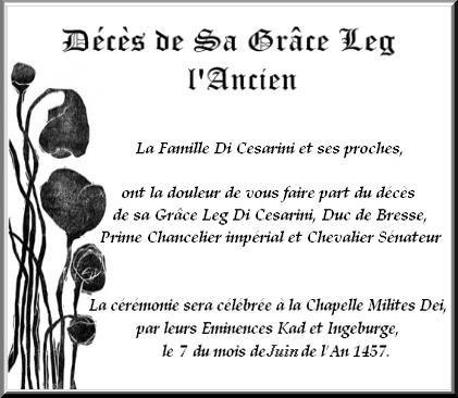Funérailles de leg l'Ancien Dicésarini - 7 juin 1457 Legggg-f79cac