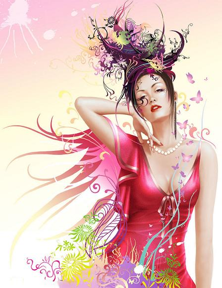 belle-femme-belle-image-flora